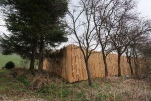 dřevěný plot ŠTÍPÁK nároží
