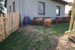 dřevěný plot instalace