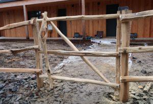 dřevěné brány a branky